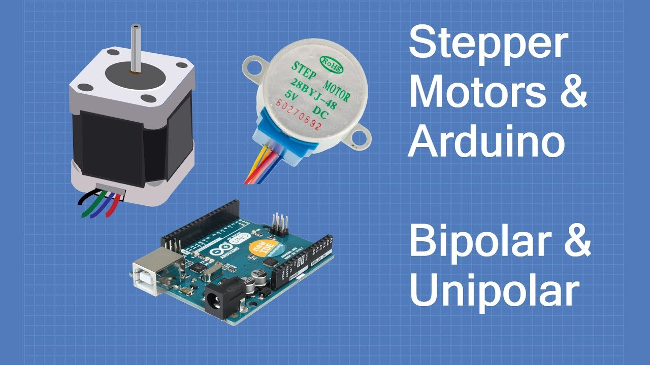 Stepper Motors with Arduino - Controlling Bipolar